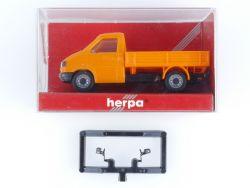 Herpa 041676 VW T4 Pritsche Baufahrzeug Modellauto 1:87 H0 OVP