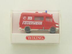 Wiking 6050122 Mercedes-Benz Rettungswagen Feuerwehr RTW NEU OVP