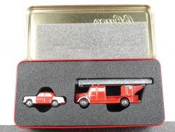 Schuco Piccolo-Set Idee + Spiel 1999 Mercedes 180 Feuerwehr OVP