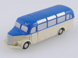 Schuco 01421 Piccolo Mercedes MB O-3500 Omnibus blau/beige OVP