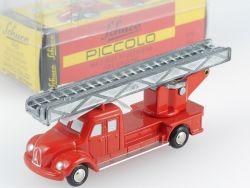 Schuco 01231 Piccolo Magirus Deutz Feuerwehr Leiterwagen 745 OVP