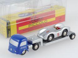 Schuco 01291 Piccolo Mercedes Tieflader mit Stromlinie OVP