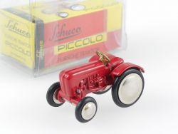 Schuco 01541 Piccolo Porsche Traktor rot 1998 Modell NEU! OVP SG