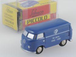 Schuco Piccolo VW T1 Kasten Bus Pillenstein 800x wie NEU! OVP