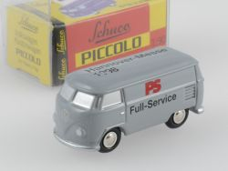 Schuco Piccolo VW T1 Bus PS Full-Service Hannover-Messe TOP OVP