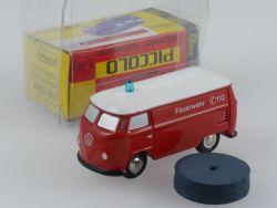 Schuco 01324 Piccolo VW T1 Kasten Bus Feuerwehr wie NEU! OVP