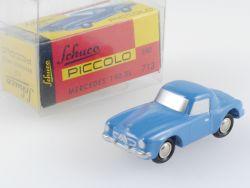 Schuco 01251 Piccolo Mercedes MB 190 SL hellblau nur 500 TOP OVP