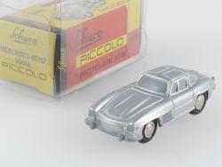 Schuco 01391 Piccolo Mercedes MB 300 SL W198 silber ohne Stern OVP