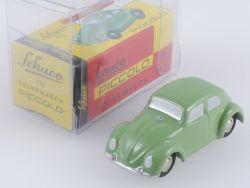 Schuco 01261 Piccolo VW Volkswagen Käfer grün wie NEU! OVP