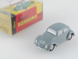Schuco 01261 Piccolo VW Volkswagen Käfer grau SELTEN OVP