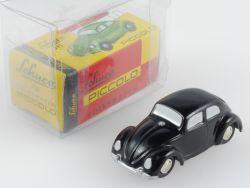 Schuco 01261 Piccolo VW Volkswagen Käfer schwarz wie NEU! OVP