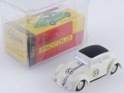 Schuco 01265 Piccolo VW Volkswagen Käfer Herbie 53 wie NEU! OVP