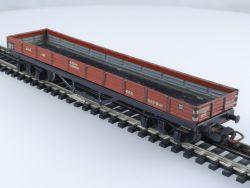 Märklin 391 Niederbordwagen 4-achsig Blechwagen 700 800 50er