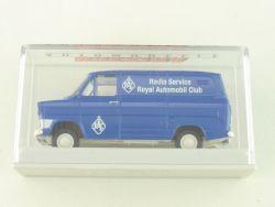 Brekina 34052 Ford Transit IIA RAC Radio Service 1:87 TOP! OVP ST