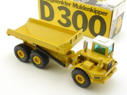 NZG 166 DJB D300 Muldenkipper Articulated Dump Truck 1:50 lesen OVP