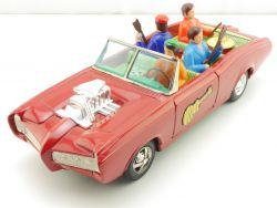 ASC The Monkees Monkee-Mobile Blechauto Japan 60er tin