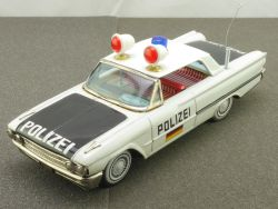 Ichiko Japan Ford Fairlane Polizei German Version Tin rare!