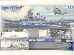 Tamiya 7305 US Navy Battleship BB-62 New Jersey 1/350 MIB! OVP