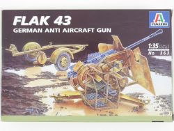 Italeri 363 Flak 43 German Anti Aircraft Gun Kit 1/35 MIB NEU OVP