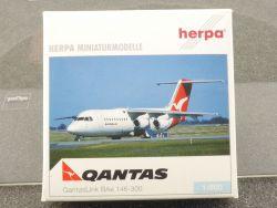 Herpa 513074 QantasLink BAe 146-300 VH-NJL 1/500 OVP