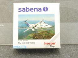 Herpa 509619 Sabena BAe 146-300 RJ 100 OO-DWD 1/500 OVP