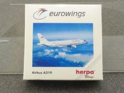 Herpa 508926 Eurowings Airbus A319 Diecast Model 1/500 OVP