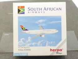 Herpa 501934 Airbus A300B2 South African Airways Model 1/500 OVP
