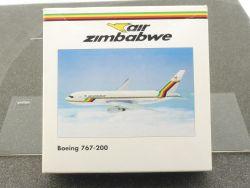 Herpa 504232 Boeing 767-200 Air Zimbabwe Simbabwe 1/500 OVP