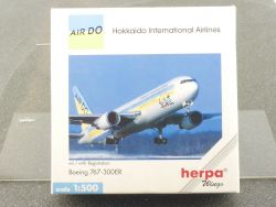 Herpa 502993 Boeing 767-300ER Air Do Hokkaido International OVP