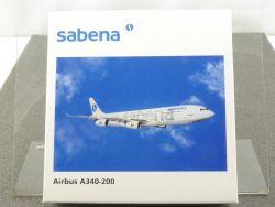 Herpa 507325 Airbus A340-200 Sabena Belgium swissair 1/500 OVP