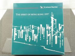 Herpa Boeing 747-200 Cathay Pacific Spirit of Hong Kong 1997 OVP