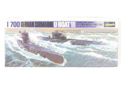 Hasegawa WL-S126 Deutsches U-Boot VIIC IXC 1/700 NEU! OVP