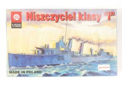 Plastyk HMS Ivanhoe D16 Niszczyciel Klasy I Poland Model Kit OVP