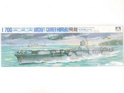 Aoshima 26 Japan Aircraft Carrier Hiryu WWII WK 2 1/700 NEU! OVP