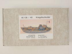 Artitec 80.138 Kriegsfischkutter H0 1/87 Bausatz Kit RARE! OVP