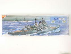 Nichimo Japan Heavy Cruiser Nachi Motor 1/500 RARE! OVP