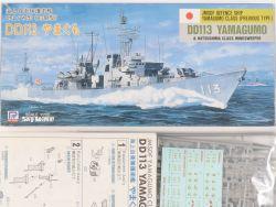 SkyWave Pit-Road J-1 DD113 Yamagumo Defence Ship 1/700 NEU! OVP