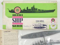 Almark Mini-Kits USS Iowa American Battleship 1/1200 NEU! OVP