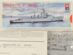 ZTS Plastyk Fregata Typu 61 Whitby 1/500 Kit Poland NEU! OVP