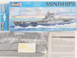 Revell 06814 Miniships USS Hornet Flugzeugträger 1/1200 NEU! OVP