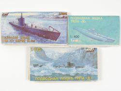 Konvolut Politechnika K4002 K4004 Typ M U-Boot 3x Kit NEU! OVP