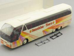 Rietze 64513 Neoplan Sunshine Tours Happy Wess Flensburg Bus OVP SG