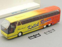 Rietze 64508 Neoplan Starliner Kollek Reisebus Velbert OVP