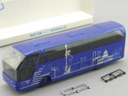 Rietze 62025 Neoplan Starliner World Wide Reisen Dachau Bus OVP SG