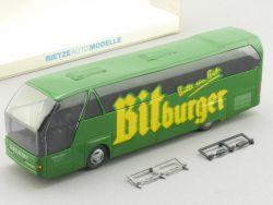 Rietze 62030 Neoplan Theis Reise Bus Baustert Bitburger Bier OVP SG
