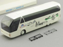 Rietze 62026 Neoplan Starliner World Wide Reisen Dachau Bus  OVP SG