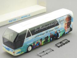 Rietze 62011 Neoplan CSU Werbebus Stoiber Bayern Unterwegs OVP
