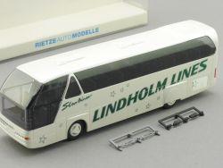 Rietze 62007 Neoplan Lindholm Lines Reisebus Finnland Espoo  OVP