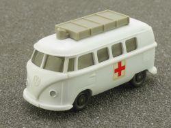 Wiking 1035/1 B Volkswagen VW T1 Bus Krankenwagen lesen! OVP