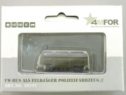 Märklin 18702 4MFOR VW Bus als Feldjäger Polizeifahrzeug NEU OVP